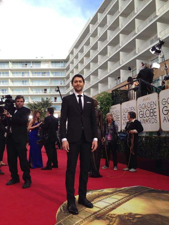 Black mohair at golden globes