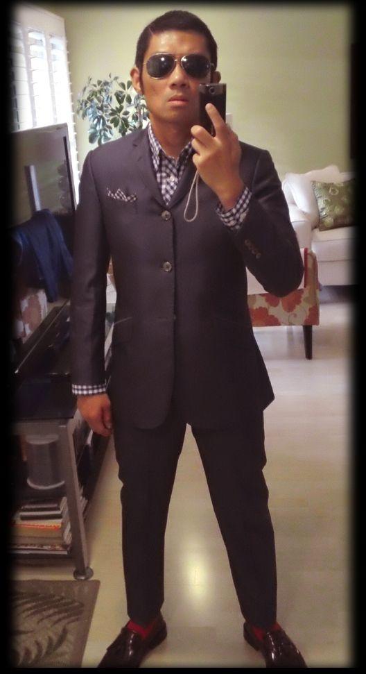 skinhead suit