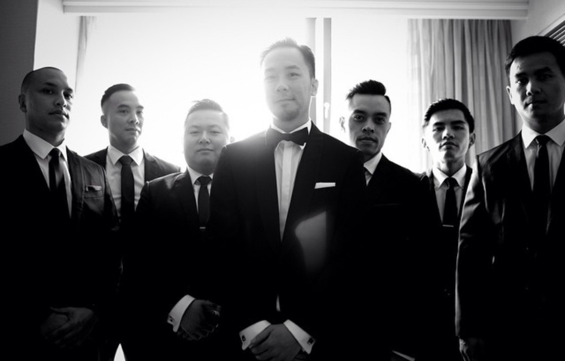 Suits - Black and White Photo