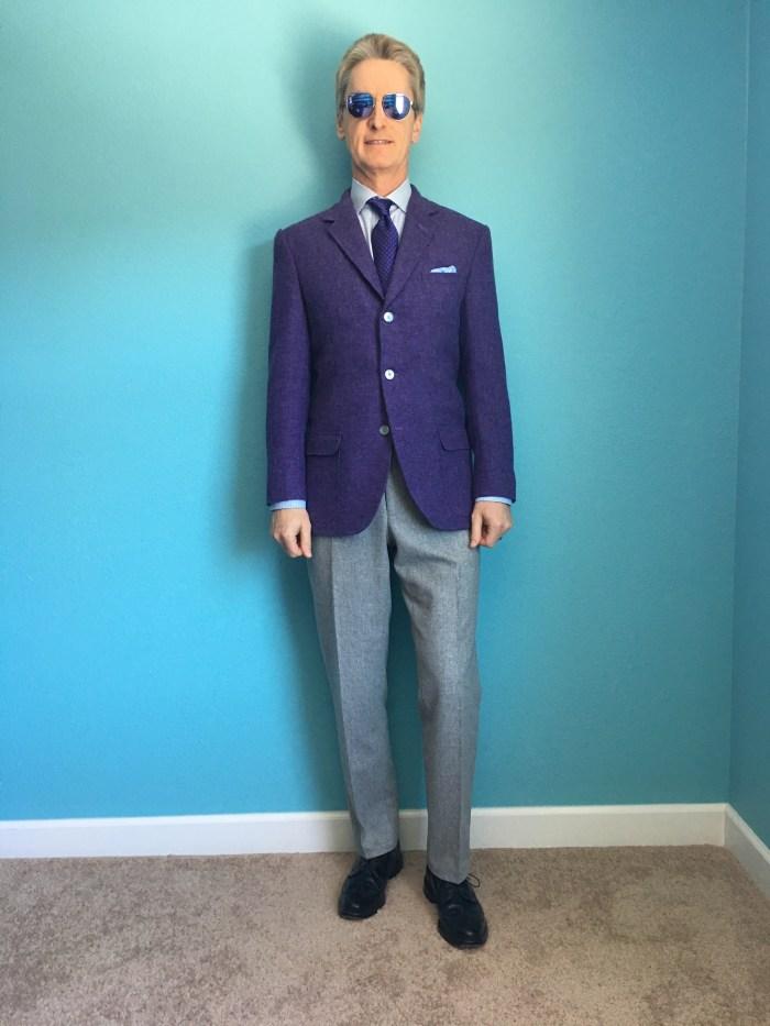 Ian purple cashmere CMT