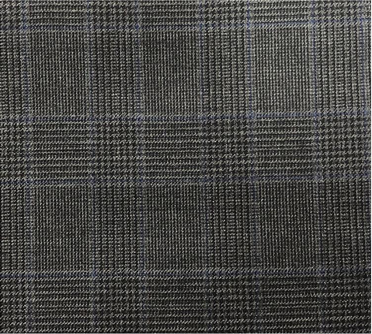 Charcoal POW Suit Fabric