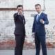 jason matt house cut and wedding suit